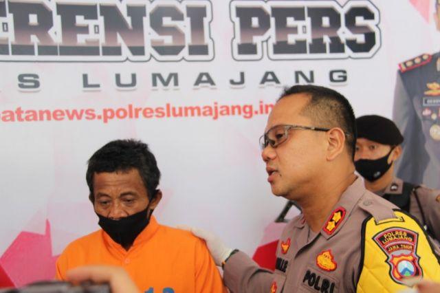 Tim Kuro Polres Lumajang Ungkap Pelaku Pembunuhan Kedungjajang