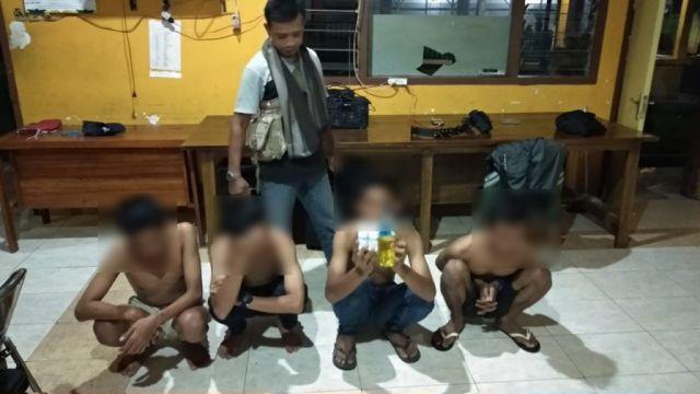 Duh..! Satpol PP Lumajang Amankan Pemuda Pesta MILO dari Alkohol dan Spirtus