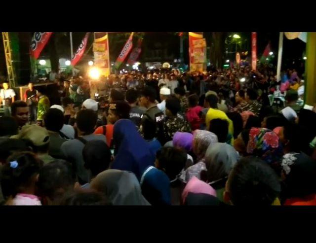 Festival Musik Patrol Masjid Agung Anas Machfudz Dibanjiri Lautan Manusia