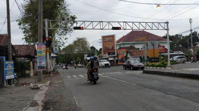 Pertigaan Sukodono Jadi Lokasi Tilang Elektronik Lumajang