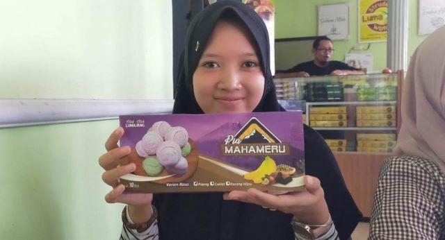 Pia Mahameru Kue Pisang Oleh Oleh Wong Lumajang