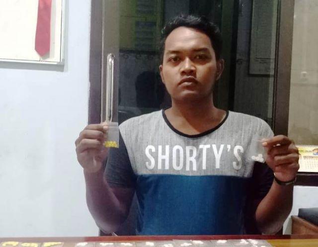 Edarkan Pil Koplo, Pemuda Jatiroto Ditangkap Polisi di Pos Kamling