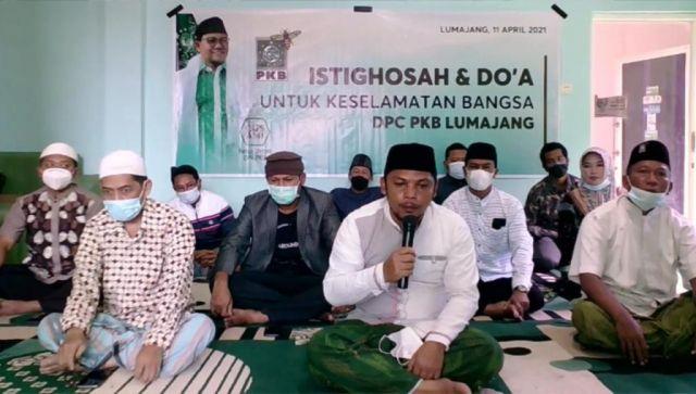 DPC PKB Istighosah Do'akan Keselamatan Bangsa dan Lumajang