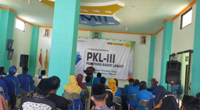 Buka PKL-III PMII Lumajang, Ini Pesan Cak Thoriq Untuk Mahasiswa