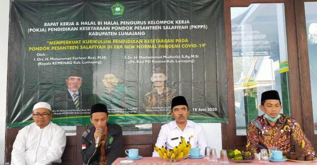 Pendidikan Kesetaraan Ponpes Salafiyah Lumajang Sambut New Normal