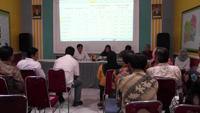 KPU Lumajang Tetapkan DPT Pilkada, Ribuan Pemilih Tidak Memenuhi Syarat