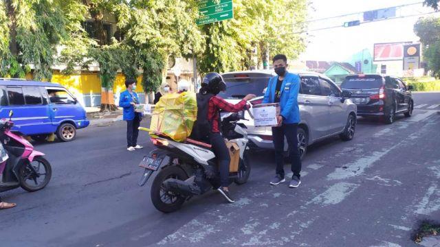 PMII Lumajang Galang Dana Korban Gempa Tempursari dan Pronojiwo