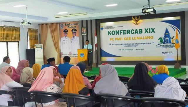 PC PMII Gelar Konfercab XIX di Aula BKD Lumajang