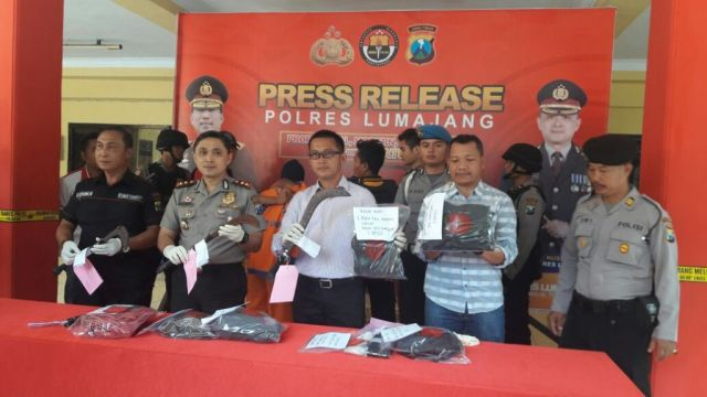 Polres Lumajang Ringkus 2 Maling Sapi, Satu pelaku Ditembak Kakinya