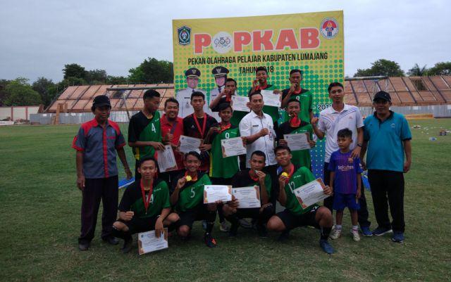 Kecamatan Lumajang Juara 1 POPKAB Sepak Bola