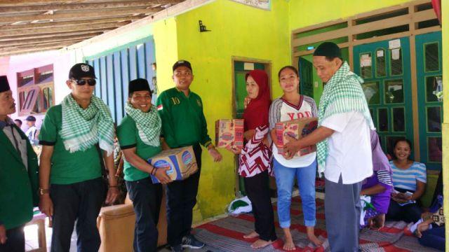 PPP Lumajang Salurkan Bantuan Sembako Bagi Korban Banjir Rowokangkung