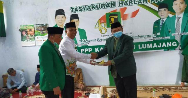 Harlah ke-48, PPP Siap Bersinergi dengan NU Lumajang