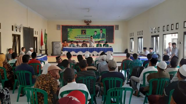 Safari Politik 5 Dapil PPP Sapa Kader dan Masyarakat Lumajang
