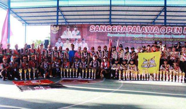 Pramuka Lumajang Borong Piala di Sanggra Palawa Open IX 2019