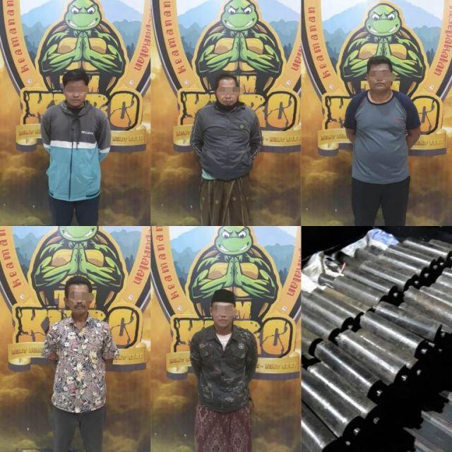 Polsek Klakah Tangkap Maling Decroll di Pabrik PT PSW Lumajang