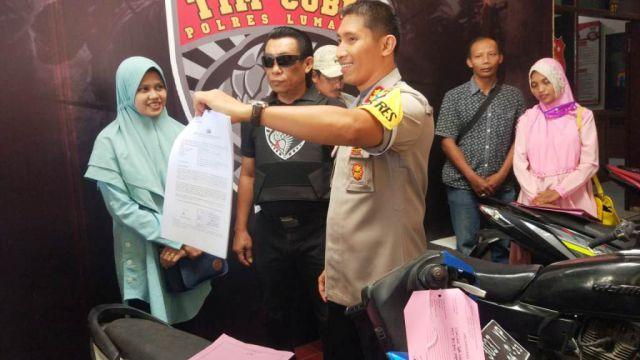 Dicuri di Pasuruan Tim Cobra Temukan Honda Beat di Sawaran Lor