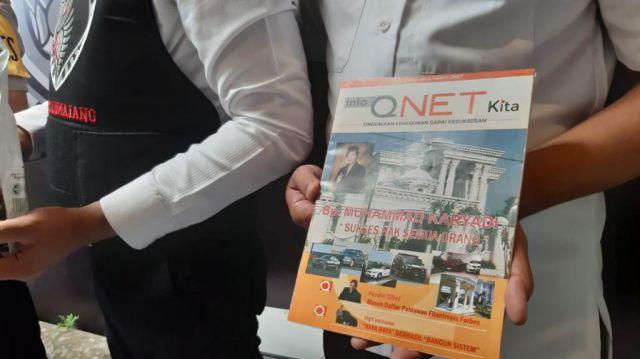 Kapolres Lumajang Disambati Penipuan Qnet di Pendalaman Kalimantan oleh Oknum Polisi