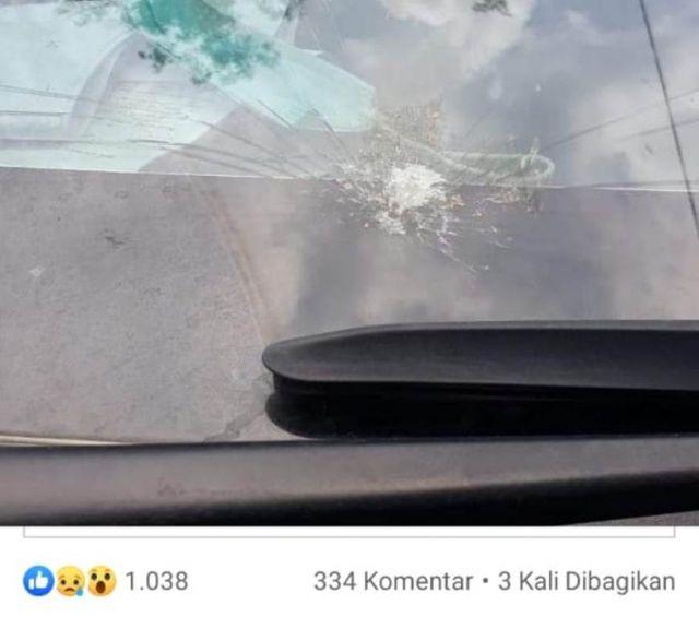 Kaca Mobil Pecah, DPRD Lumajang Ini Malah Ingin Beri Hadiah Pelakunya