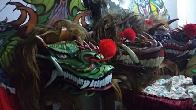 Jatigono Gelar Festival Rampak Barong Pertama Kali di Lumajang
