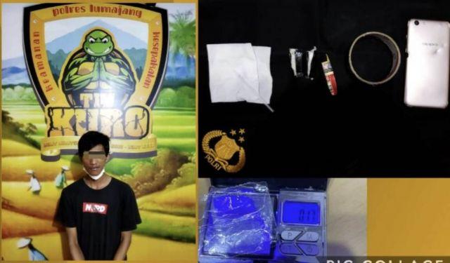 Lagi, Pemuda Randuagung Lumajang Diringkus Polisi Hendak Pesta Sabu