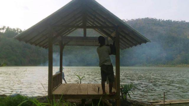 Berbenah, Wisata Ranu Bedali Bangun Gazebo dan Tempat Foto Selfie