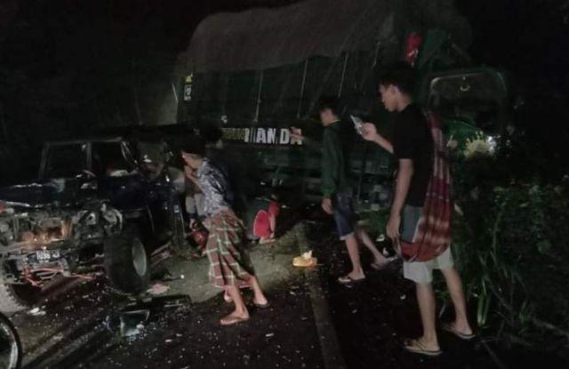 Kecelakaan Beruntun Ranuyoso Lumajang Berawal Rem Blong Truck Pasir