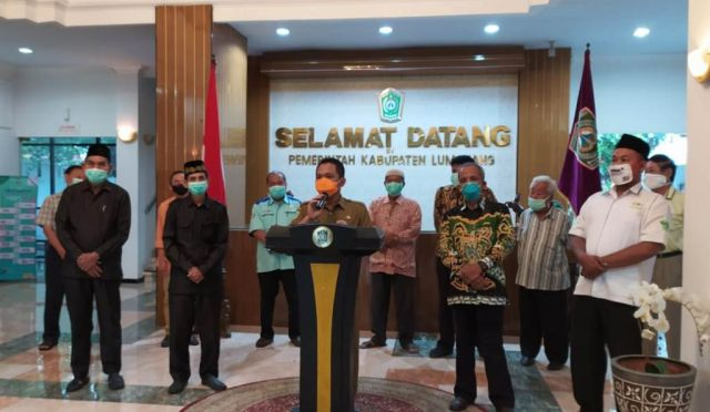 Cak Thoriq Siapkan Bantuan Paket Beras Dampak Corona di Lumajang