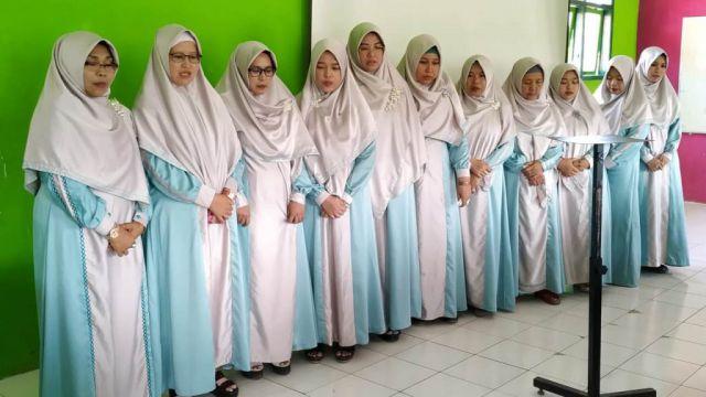 PC NU Kukuhkan Divisi Putri RMI Lumajang