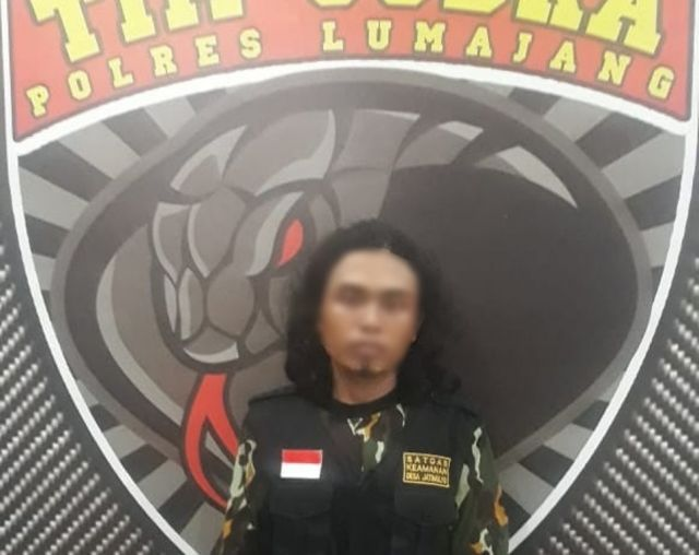 Tim Cobra Ciduk Satgas Jatimulyo Curi Laptop di Pandanwangi Lumajang