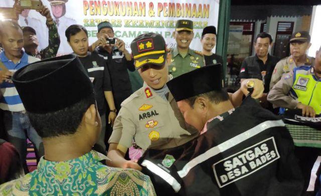 Ratusan Satgas Keamanan Desa Siap Amankan Pasirian dari Gangguan Kamtibmas