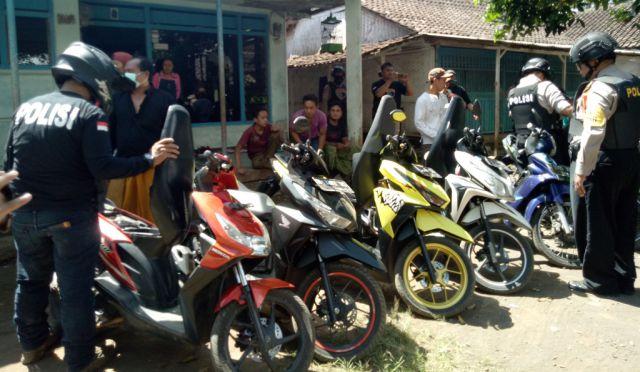 Tim Cobra Amankan 7 Motor dan 1 Mobil dari Razia di Desa Sawaran Lor