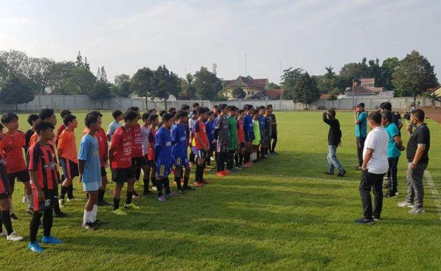 Askab PSSI Lumajang Seleksi Calon Pemain Timnas U-16 dan U-19