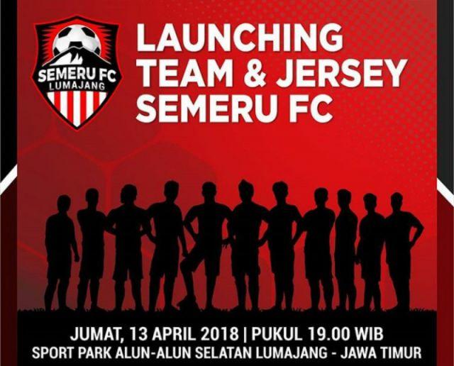 Nanti Malam, Yuk Ramaikan Launching Tim dan Jersey Semeru FC di Sport Park Alun-alun
