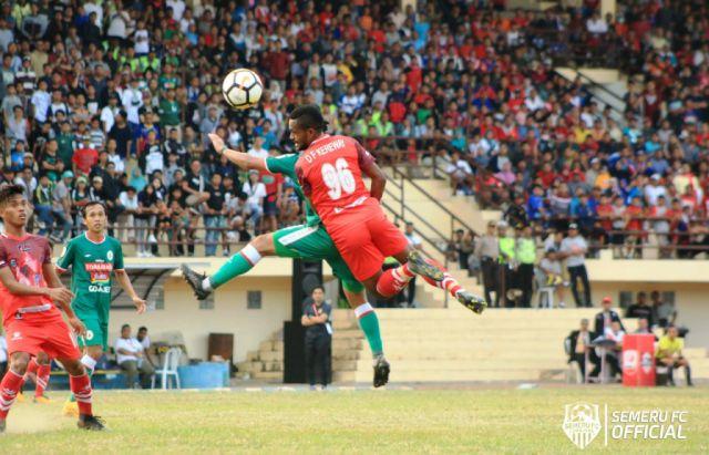 Terlalu Tangguh, Semeru FC Takluk 0-1 Saat Jamu PSS Sleman