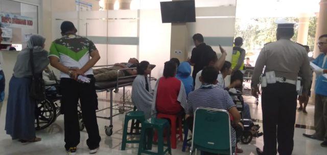 11 Siswa SMAN 02 Genteng Banyuwangi Harus Rawat Inap di RSUD Haryoto
