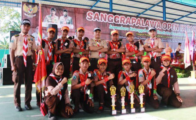 Pramuka Sangkala SMPN 02 Klakah Juarai Lomba Jurnalistik SPO IX se-Jatim