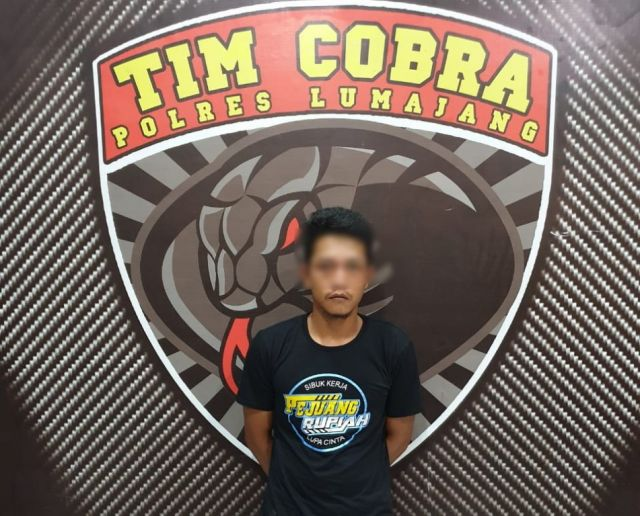 Tim Cobra Lumajang Ringkus 2 Maling Sepeda Motor Spesialis Sawah
