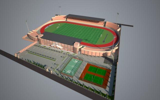Desain Terbaru Stadion Semeru Lumajang Senilai Belasan Miliar