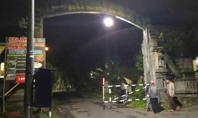 Desa Wisata Sumbermujur Lumajang Terapkan One Gate System