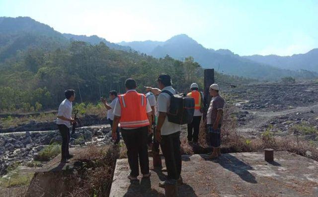 Pemerintah Rencana Bangun Jembatan Layang Sungai Lahar Semeru Bondeli Selatan