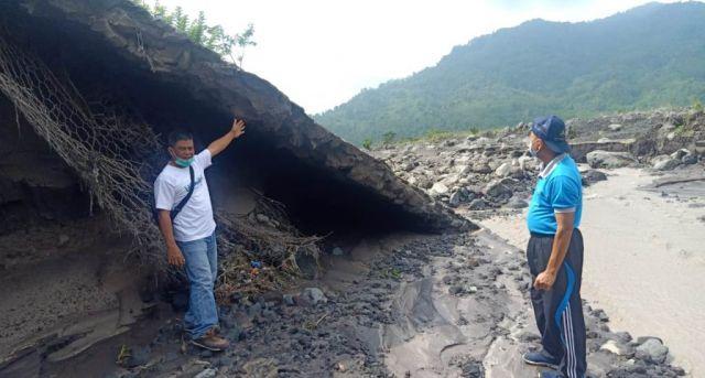 Tanggul 15 Meter Nyaris Jebol Dihamtam Lahar Dingin Semeru di Rejali