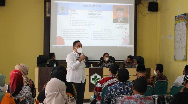 Komisi D DPRD Lumajang Ajak Stakeholder Kecamatan Sukseskan Vaksin