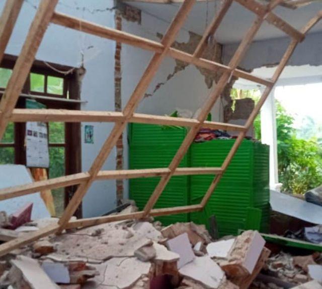 Tempursari Lumajang Rasakan Guncangan Hebat Gempa 6.7 Mag