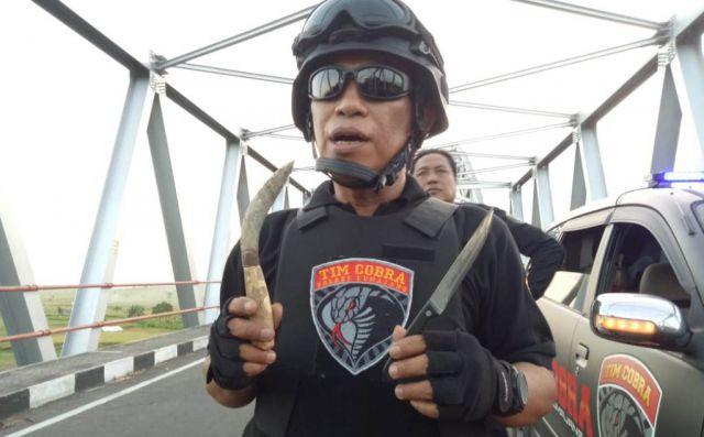 Razia di JLS, Tim Cobra Lumajang Dapati Remaja Bawa Senjata Tajam