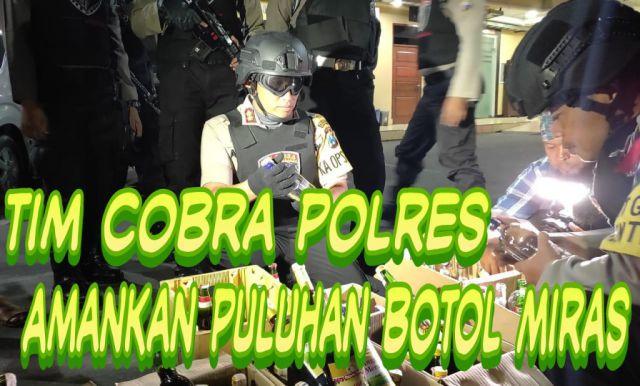 Video : Tim Cobra Lumajang Razia Toko Miras dan Sepeda Bodong