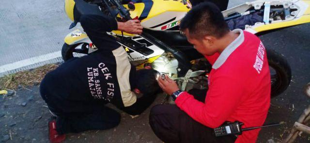 Tim Cobra Operasi Senja Amankan 16 Sepeda Diduga Bodong di JLS
