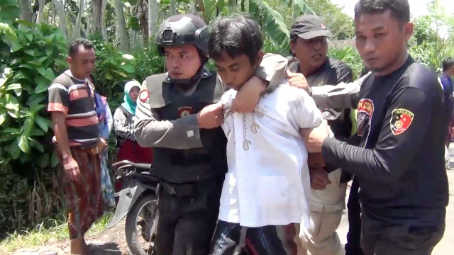 Video : Detik-detik Menegangkan Penagkapan Maling Sapi Selok Anyar Lumajang