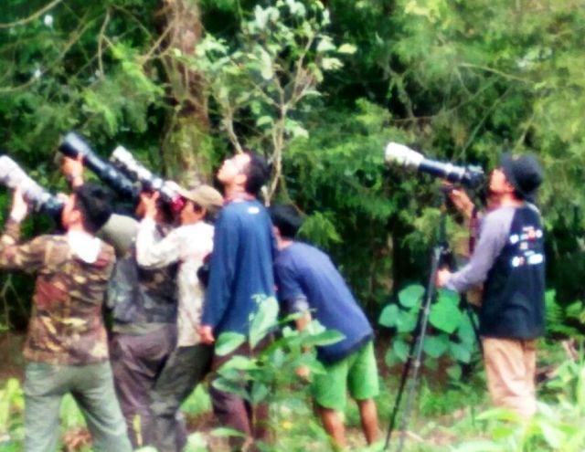 Puluhan Mahasiswa Jawa-Bali Ikuti Bromo Tengger Semeru Birdwatching Competition