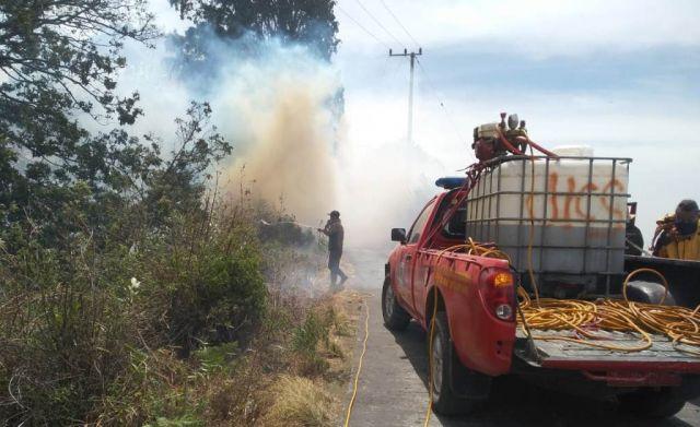 Api Kembali Hanguskan 115 Hektar Hutan di Lereng Semeru