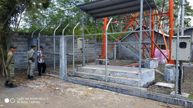 Diduga Tak Berijin Satpol PP Lumajang Sidak Tower di Desa Karangbendo